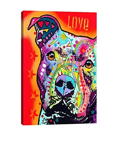 Dean Russo Gallery Thoughtful Pit Bull Canvas Print