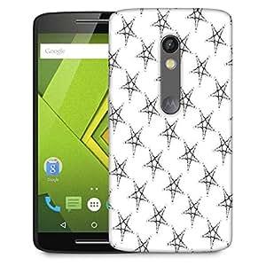 Snoogg Plenty Of Stars Designer Protective Phone Back Case Cover For Lenovo Motorola Moto G4