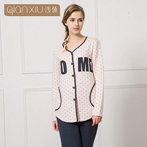 invierno-sra-cartas-sello-kit-de-tapa-de-ocio-nighties-homewear-algodon-color-carne-carpetaxl-yuxin