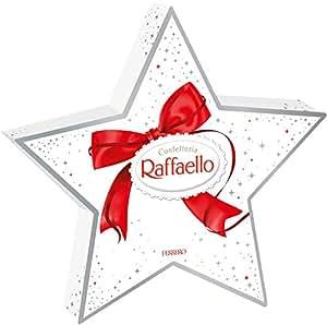 Amazon.com : Raffaello Star Holiday Gift Box 140g : Candy And