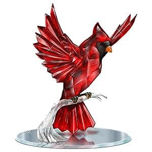 Amazon.com: Blake Jensen Crystalline Cardinal Figurine With Mirror Base: Hamilton Collection by