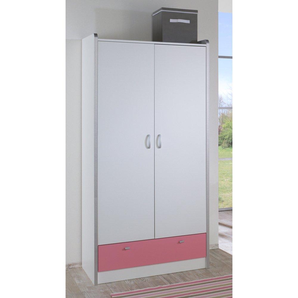 Relita Kleiderschrank Bonny, weiß/rosa, 2 Türen jetzt bestellen