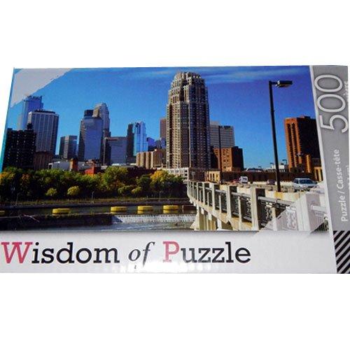 """Wisdom of Puzzle 500 Piece 17"""" x 10.75"""" - 1"""