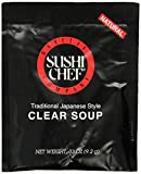 Sushi Chef Clear Soup, 0.33-Ounce Packages (Pack of 12)