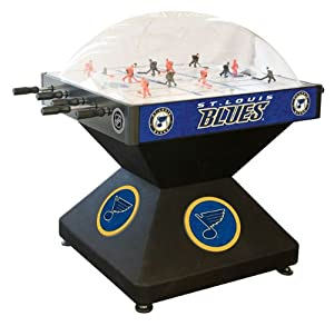 St. Louis Blues Dome Bubble Hockey by Holland Bar Stool
