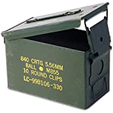 .50 Caliber Ammo Can, Military Surplus, Grade 1