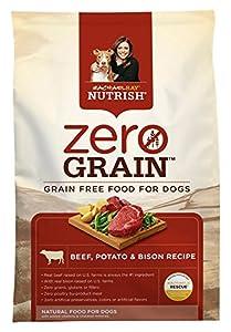 Rachael Ray Nutrish Zero Grain Natural Dry Dog Food, Beef, Potato, & Bison Recipe, Grain Free, 3.5 lbs