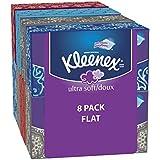 Kleenex Ultra Facial Tissue Economy Plus Pack, 8 pk, 120 ct
