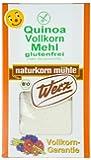 Werz Quinoa-Vollkorn-Mehl glutenfrei, 1er Pack (1 x 500 g Karton) - Bio