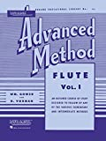 img - for Rubank Advanced Method: Flute, Vol. 1 (Rubank Educational Library, No. 95) book / textbook / text book