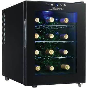 Danby DWC1233BL-SC 12 Bottle Wine Cooler - Black