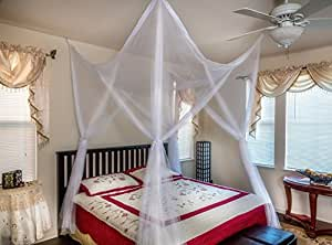 Buy Octorose 39 39 4 Poster Bed Canopy Netting