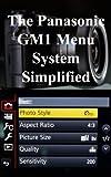 The Panasonic GM1 Menu System Simplified (English Edition)