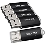 DigiOcean 16 GB USB 2.0 Flash Memory Stick Jump Pen Drive Black Pack Of 5
