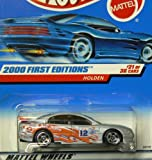 2000 First Editions -#21 Holden Solid Wing #2000-81 Collectible Collector Car Mattel Hot Wheels 1:64 Scale