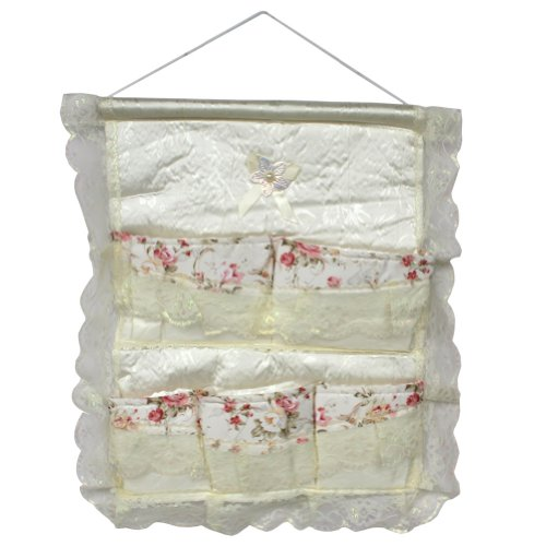 [Lace & Allover] Red Rose/Wall Hanging/ Wall Organizers / Wall Pocket / Baskets (17*19)