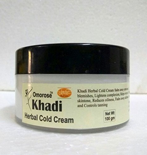Khadi Herbal Cold Cream (with shea butter , aloe vera extract) 100 gm  available at amazon for Rs.185