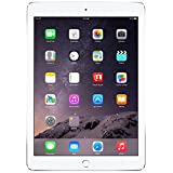 Apple IPad Air 2 SILVER 16GB Wi-Fi + Cellular LTE 4G 3G 2G - MH2V2LL/A (Silver & White)