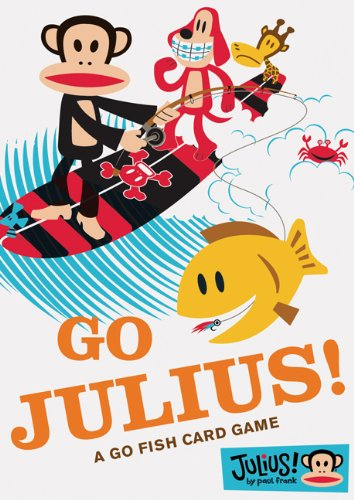 Go Julius! Go Fish Card Game