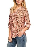 ESPRIT Camisa Mujer (Naranja)