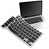 BLACK Silicone Keyboard Cover Skin Compatable With Macbook? Pro 13""