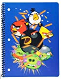 Mead Angry Birds Lenticular Notebook, Wide Ruled, 70 Sheets, Design C (72997)