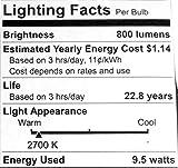 Philips 455295 Hue White 60W Equivalent A19 Single LED Bulb (2 Pack)