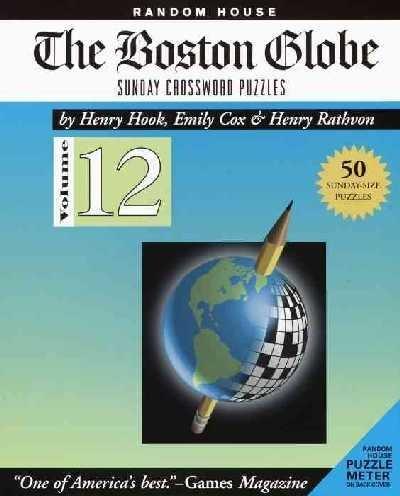 The Boston Globe Sunday Crossword Puzzles     **ISBN: 9780812934854**
