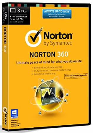 Norton 360 21.0 - 3 Computers - 1 Year Subscription (PC)