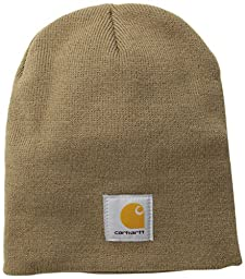 Carhartt Men\'s Acrylic Knit Hat,Canyon Brown,One Size