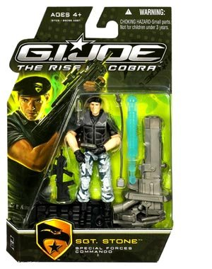 Buy Low Price Hasbro G.I. Joe The Rise of Cobra 3 3/4″ Action Figure Sgt. Stone (Special Forces Commando) (B002GJ2PBU)