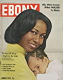 Ebony Magazine (March 1974) Congresswoman Yvonne Braithwaite Burke; Sammy Davis Jr; Walt Frazer; Detroit U.S. District Court Judge Damon J. Keith; Abraham Venable; Phillis Wheatley; Lady Sara of Guyana; LBJ and Civil Rights (Vol XXIX, No. 5)