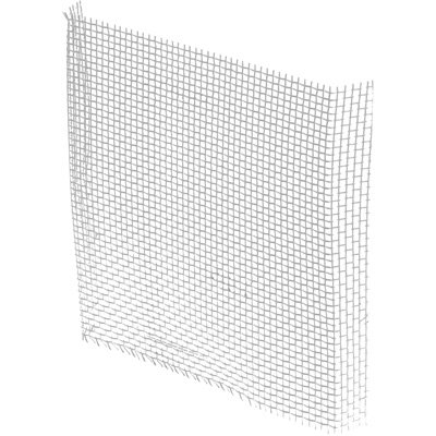 Window Screen Repair Aluminum Patch 3-Inch X 3-Inch, Gray (Pack Of 5) front-698615