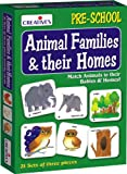 #5: Creative Educational Aids 0620 Animal Families and Their Homes