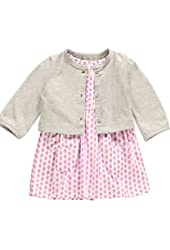 Carter's Baby Girls' 2 Piece Striped Dress Set (Baby) - Pink