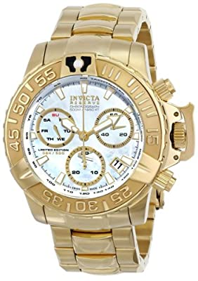 Invicta Men's 15129 Subaqua Analog Display Swiss Quartz Gold Watch