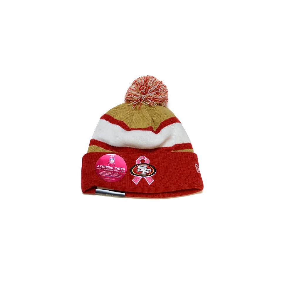 San Francisco 49ers New Era 2013 NFL Breast Cancer Awareness Knit Hat