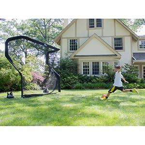 com backyard soccer goal net and rebounder sports outdoors