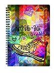 Schülerkalender Priplak Wire-O  Allstars: August 2015 - Dezember 2016