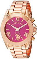 U.S. Polo Assn. Women's USC40049 Rose Gold-Tone Watch