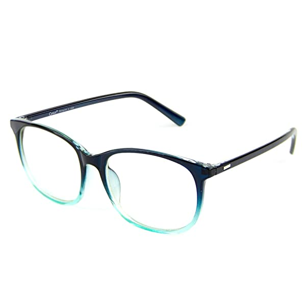 11a68ad0f3e Cyxus Blue Light Filter Computer Glasses for Blocking UV Headache  Anti Eye  Fatigue  Transparent Lens Unisex ...