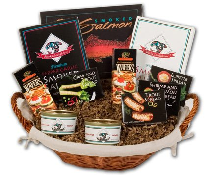 Alaska Smokehouse® Leila Bay Gift Basket