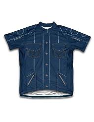 Jean Shirt Short Sleeve Cycling Jersey for Women