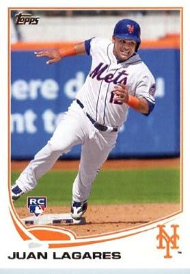 2013 Topps Update Series MLB Baseball Rookie Card #US199 Juan Lagares MINT