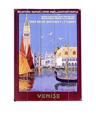 Artehouse Venice Gondola Wood Wall Décor