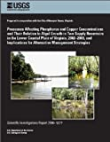 img - for Processes Affecting Phosphorus and Copper Concentrations and Their Relation to Algal Growth in Two Supply Reservoirs in the Lower Coastal Plain of Virginia, 2002-2003 and Implications for Alternative book / textbook / text book