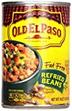 Old El Paso Refried Beans, Fat Free, 16-Ounce (Pack of 12)