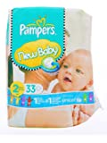Pampers New Baby 33 Couches taille 2 (3-6 kg)