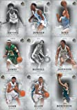 2012 2013 SP Authentic Basketball Series Complete Mint 50 Card Hand Collated Set; It Was Never Issued in Factory Form. Loaded with Stars, Rookies and Hall of Famers Pictured in Their College Uniforms Including Larry Bird, Michael Jordan, Lebron James, Julius Erving, Magic Johnson, Grant Hill, David Robinson, Dennis Rodman, Akeem Olajuwon, Allen Iverson, Anfernee Hardaway, Larry Johnson, Ray Allen and More!