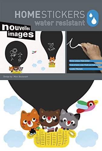 Homestickers/Chalkboard: Hot Air Balloon - 1
